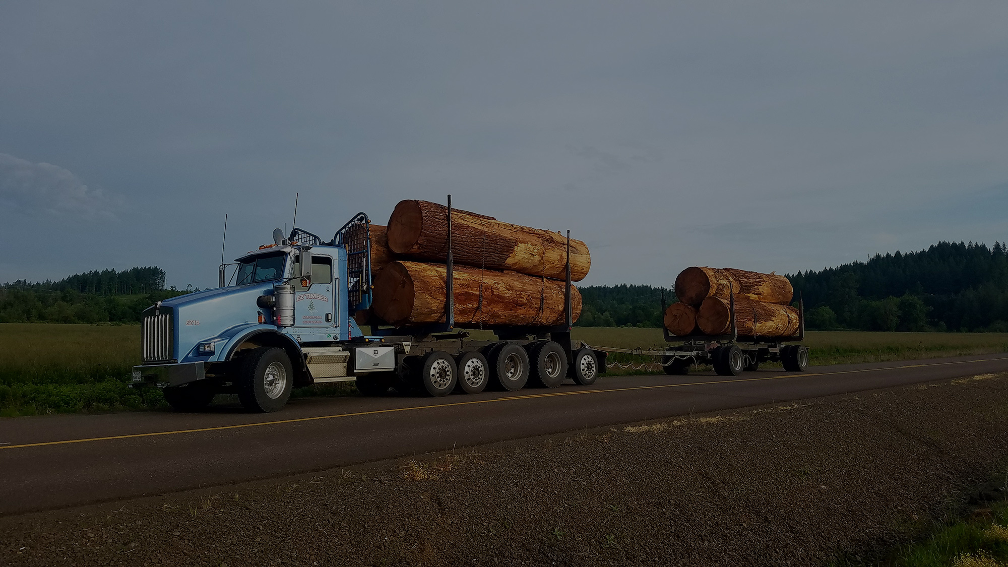 HAULING LOGS FOR OVER 40 YEARS